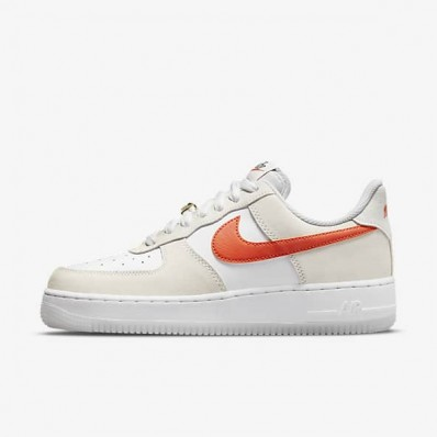 chaussure nike air force one femme couleur rouge